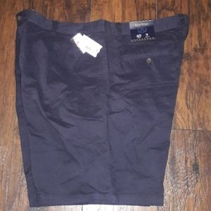 Mens sz 40 Club room navy blue shorts NWT
